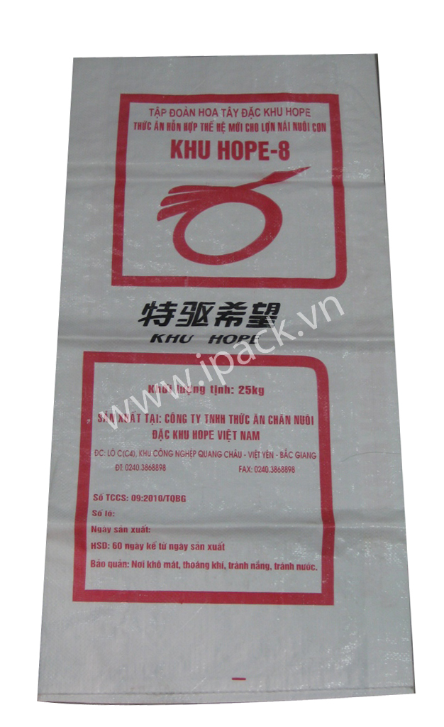 Animal feed bag - Hoa Tay Khu Hope