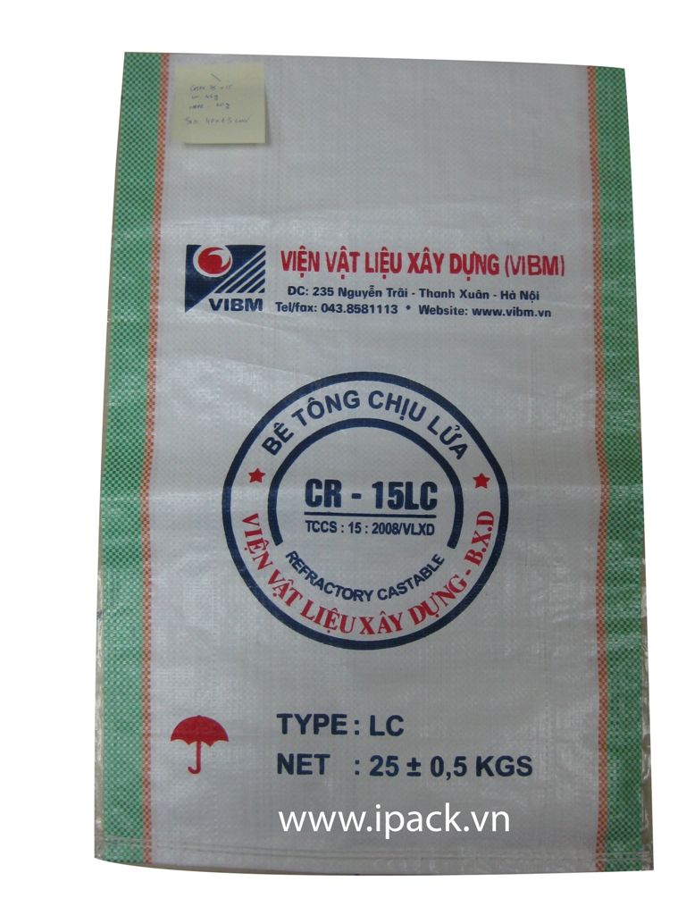 Refractory Castable bag