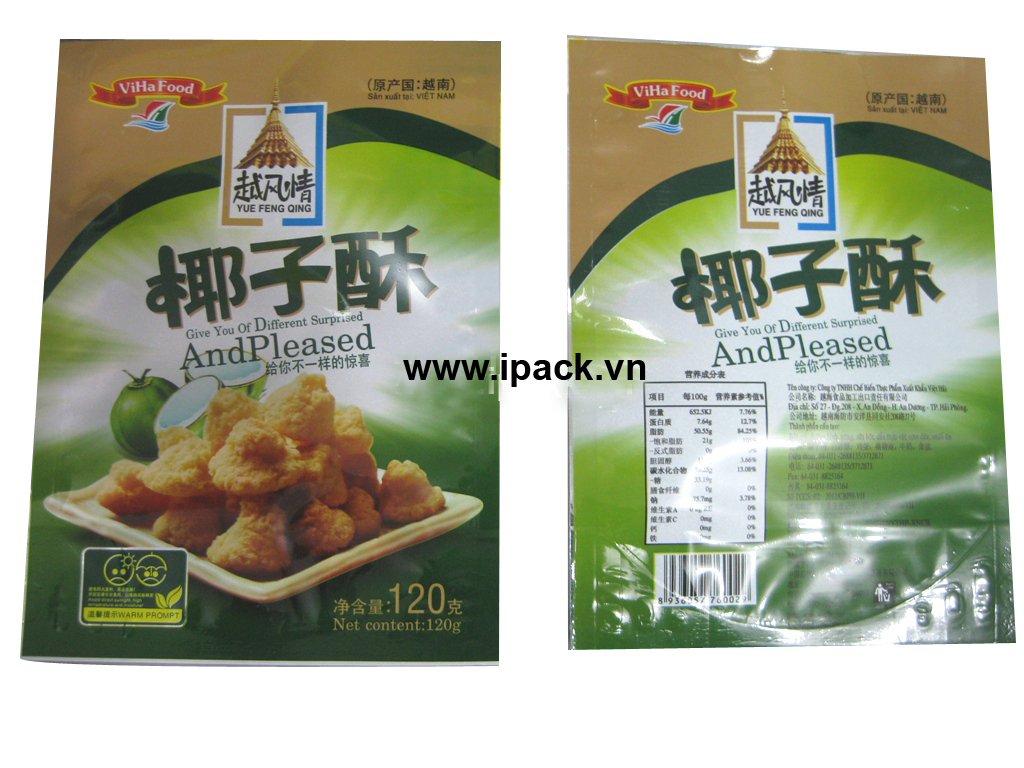 Coconut pancake bag 2