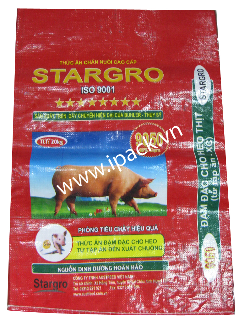 Animal feed bag- Stargro 9050