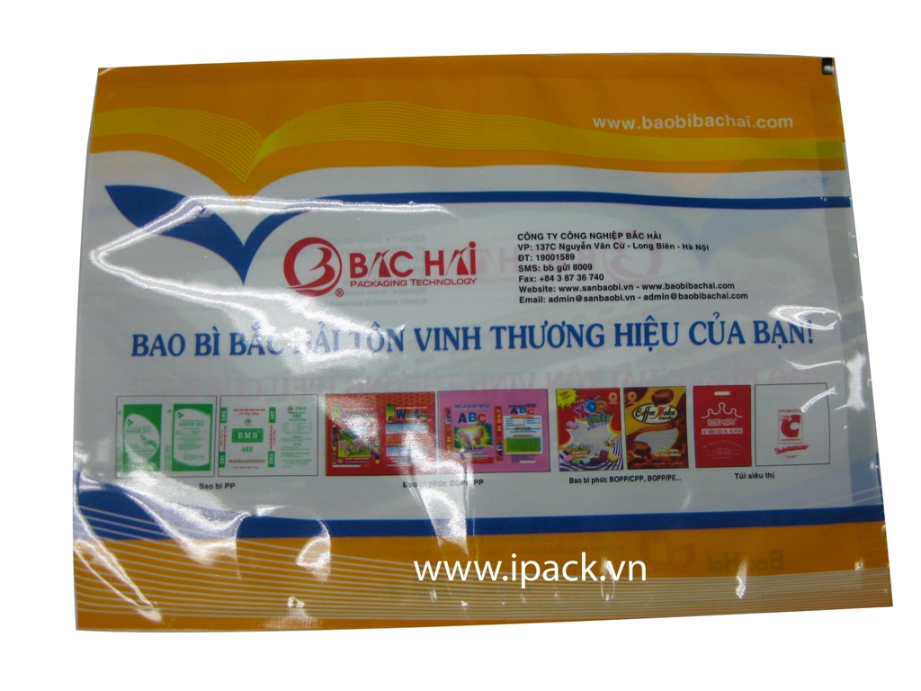 Bac Hai logo sample bag