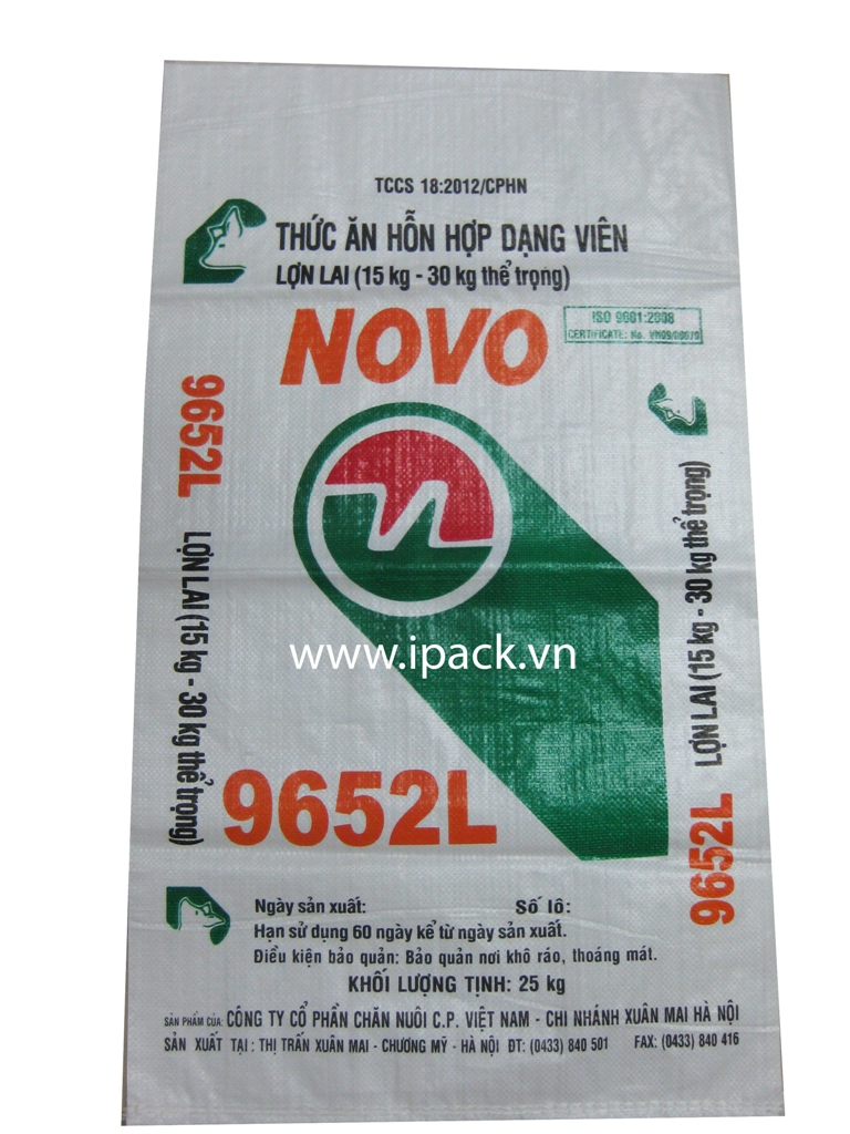 Animal Feed bag- CP Novo 9652L