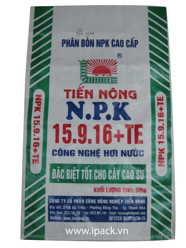 Fertilizer bag- Tien Nong NPK