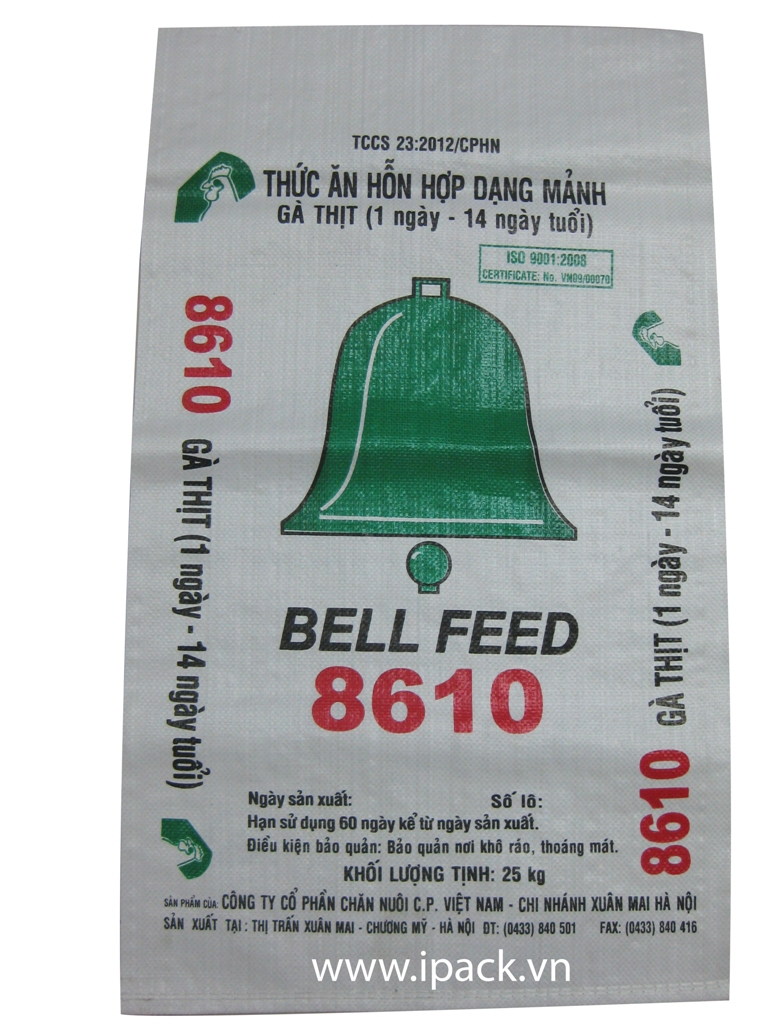 Animal Feed bag - CP Bell Feed 8610