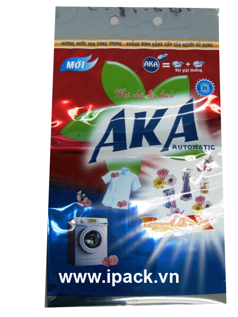 Washing powder bag