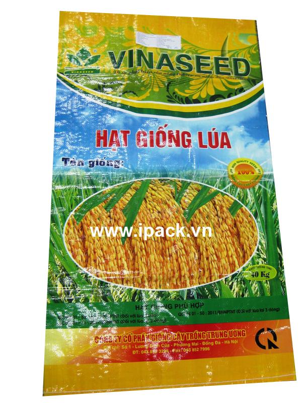 Rice seed bag - Vinaseed 40kg