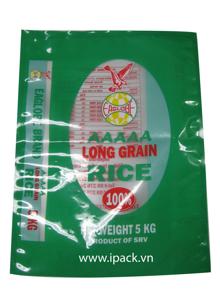 Long Grain Rice bag -Eaglobe 5kg