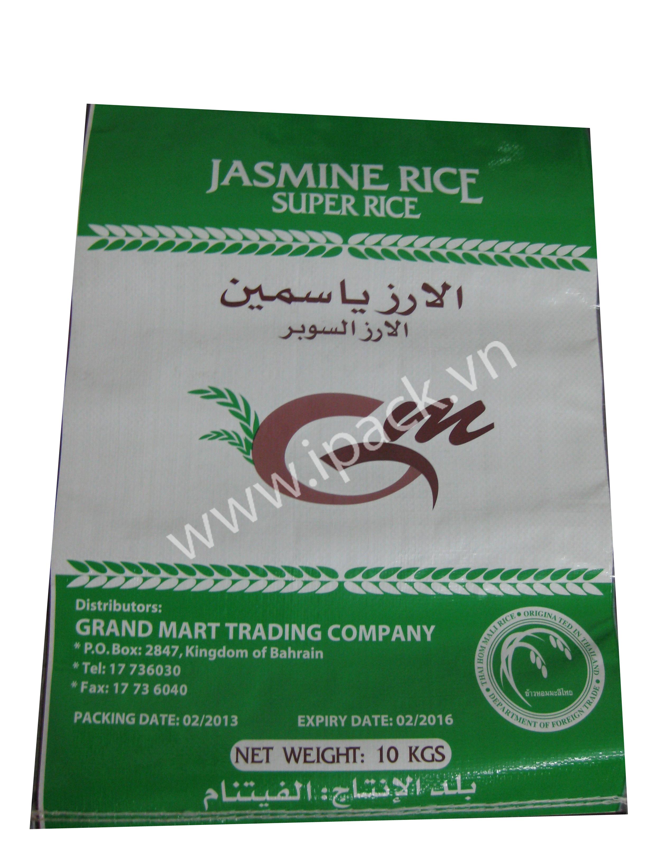 Jasmine Rice Bag- Grand Mart