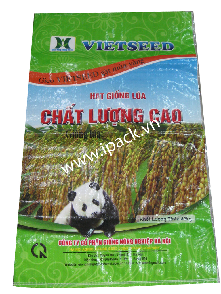 Rice seed bag - Vietseed 40kg