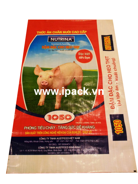 Animal feed bag - Nutrina Standard Australia