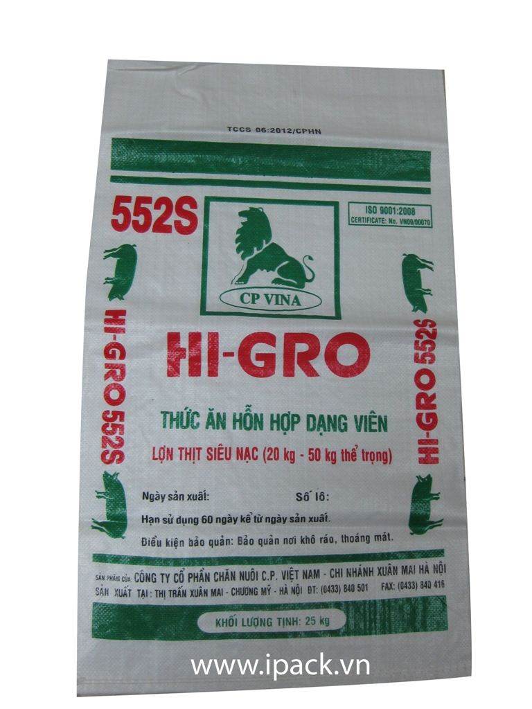 Animal Feed bag- CP Group Higro 552S