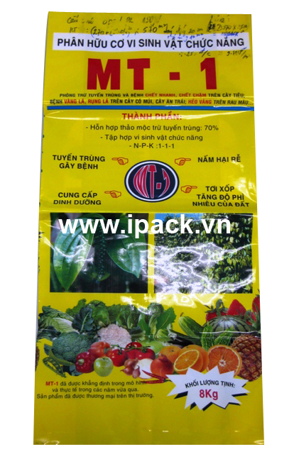 Organic fertilizer bag