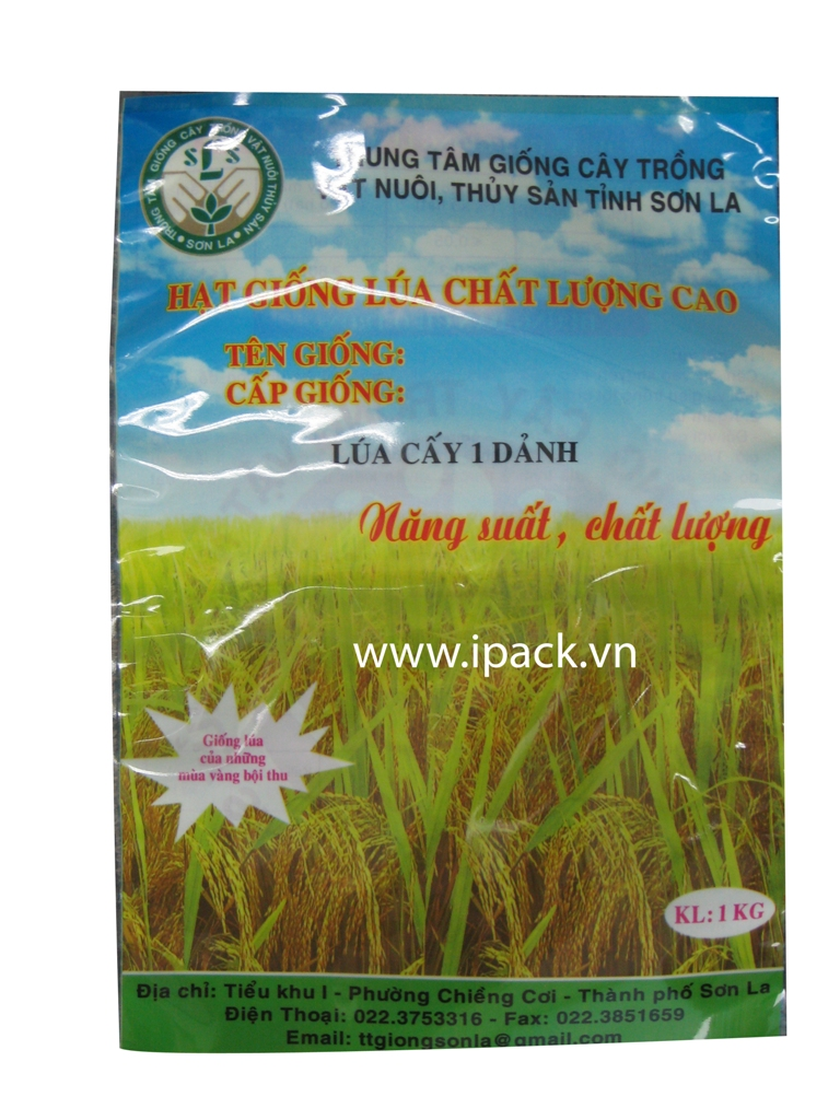 Rice seed bag 1kg- GCTVN