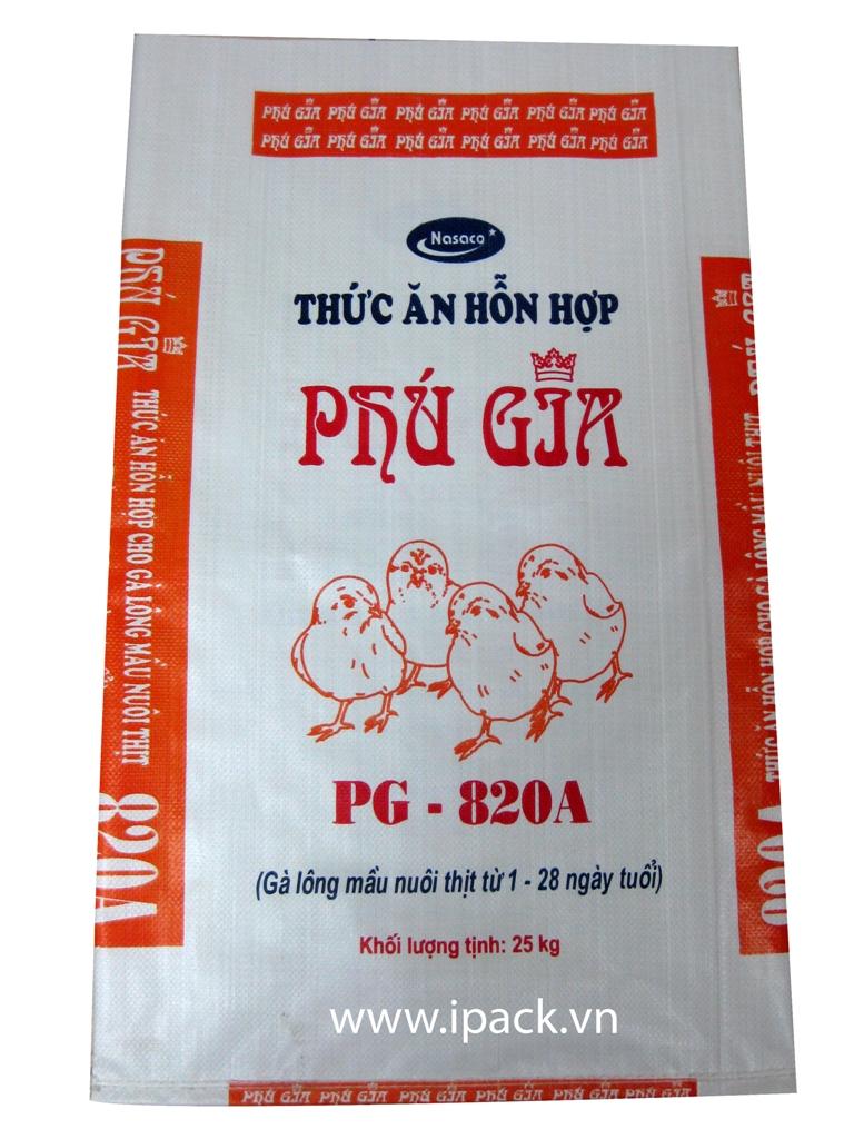Animal Feed bag - PG 820A bag