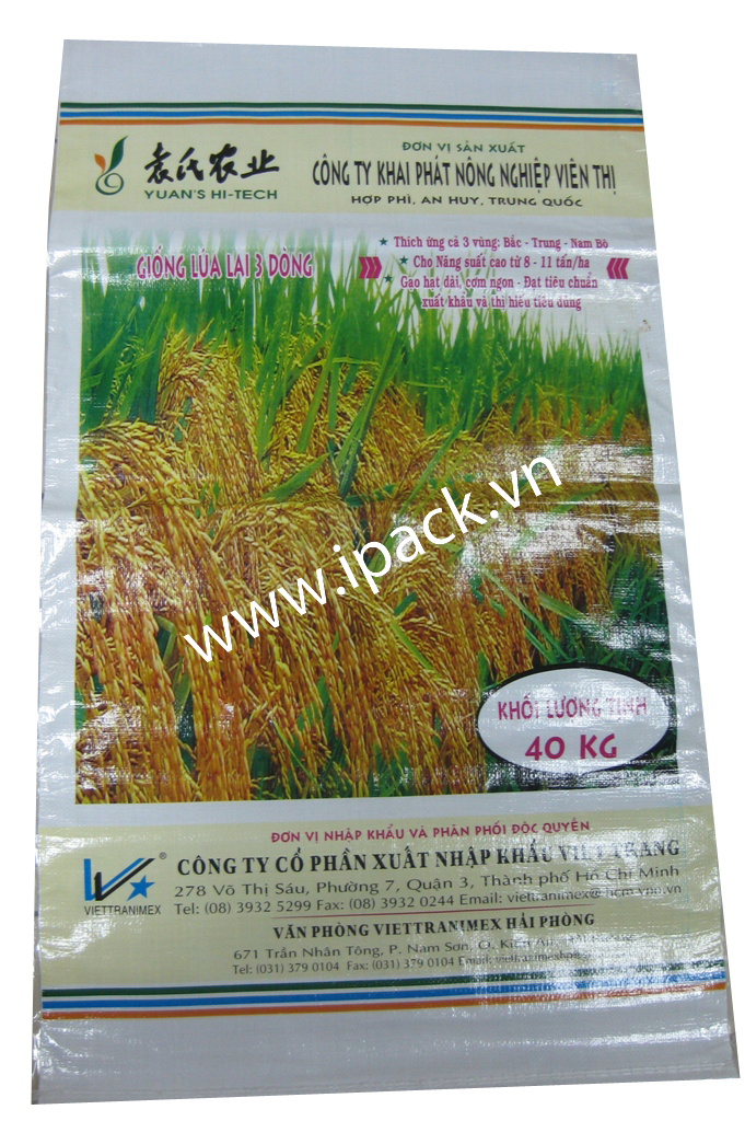Rice seed bag - Viettranimex 40kg