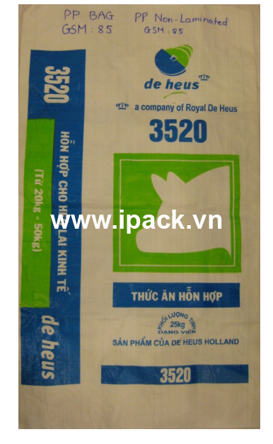 Animal feed bag- De Heus